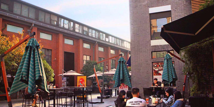 Outdoor of Masse Gastro Lounge located in Jing