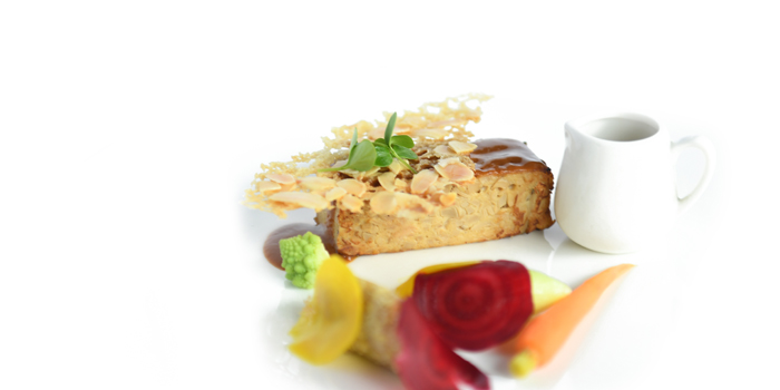 Dessert of WUJIE Shanghai World Financial Center located in Pudong, Shangha