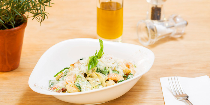 Pasta of of Vapiano (Lujiazui) Located in Pudong District, Shanghai