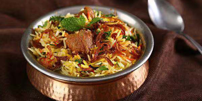 Rice from of Kebabs On The Grille Indian Cuisine (Laowaijie) located in Minhang, Shanghai