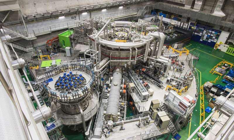 韩国超导托卡马克先进研究(KSTAR)是一种超导聚变设备,也被称为韩国人造太阳.png