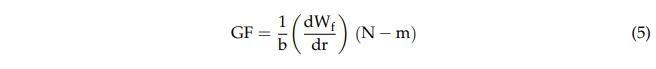 等式表示并假设将试样断裂所需的功与破裂表面成正比.png