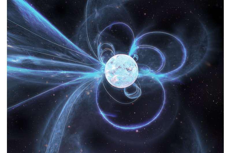 艺术家对主动式磁星雨燕J1818.0-1607的印象.png