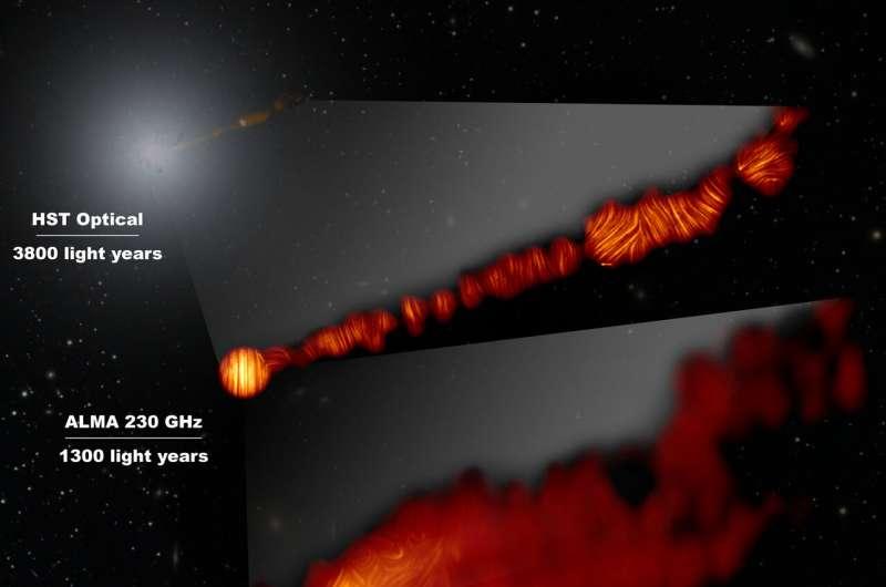 这张合成图像显示了梅西埃87(M87)星系在偏振光下的三个中心区域.jpg