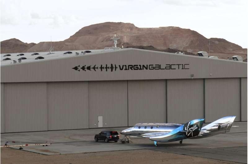 在加利福尼亚州莫哈韦的圣母银河舰队中的第一个宇宙飞船III。.jpg