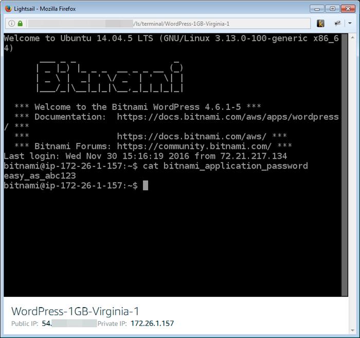 Amazon Lightsail – 兼具 AWS 的强大功能与 VPS 的简易性