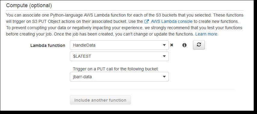 AWS Snowball Edge——更多存储容量、本地端口与Lambda函数