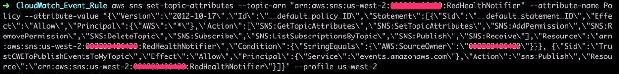 Amazon CloudWatch Events监控您应用的安全