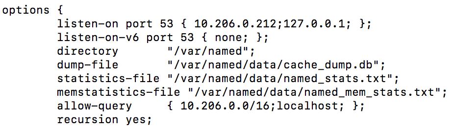 在Virtual Private Cloud中自建基于BIND的DNS服务器