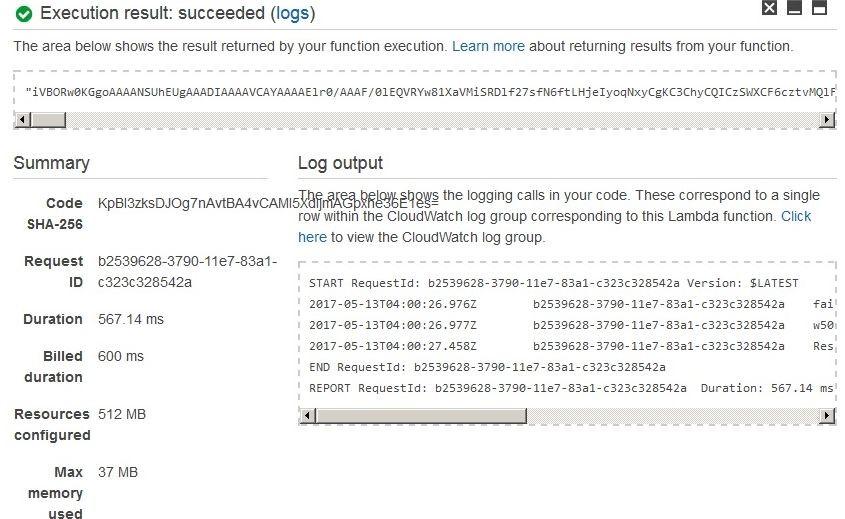 深入Serverless—让Lambda 和 API Gateway支持二进制数据