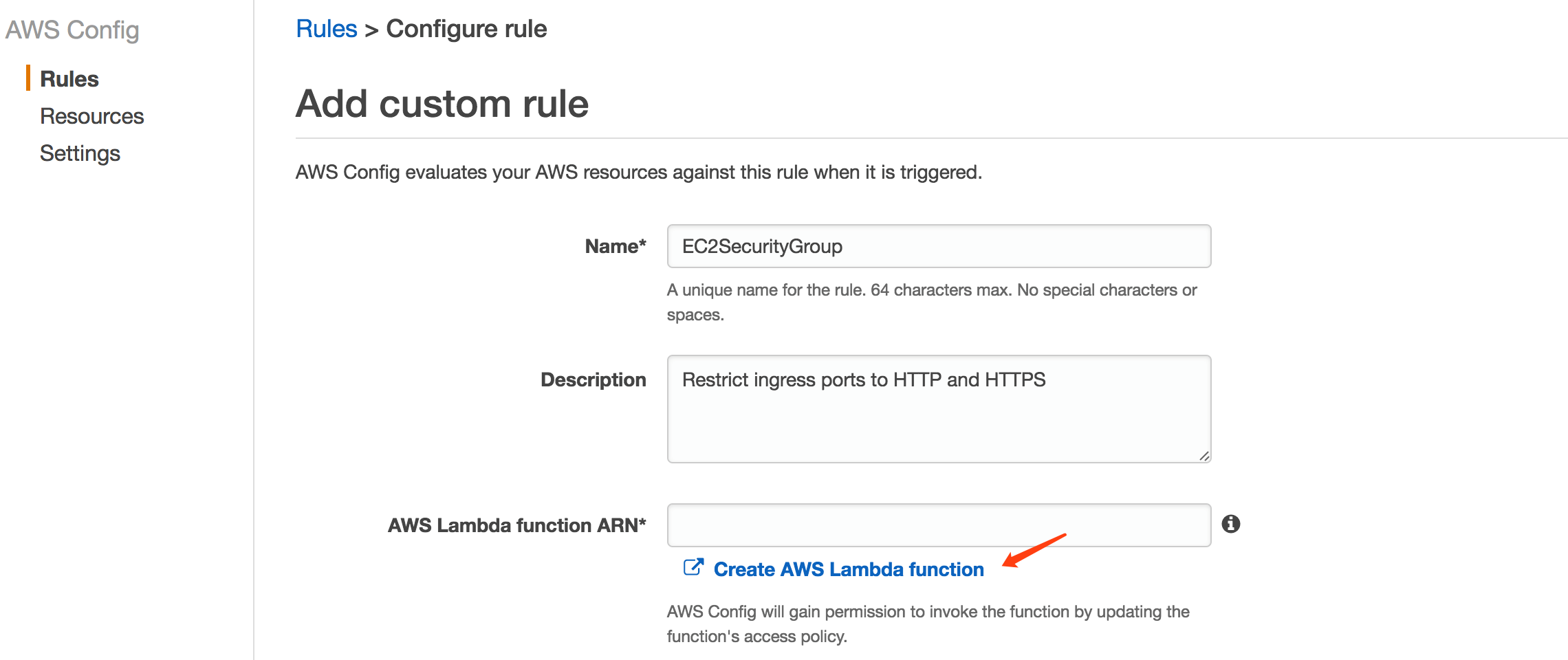 通过AWS Config 管理AWS服务配置