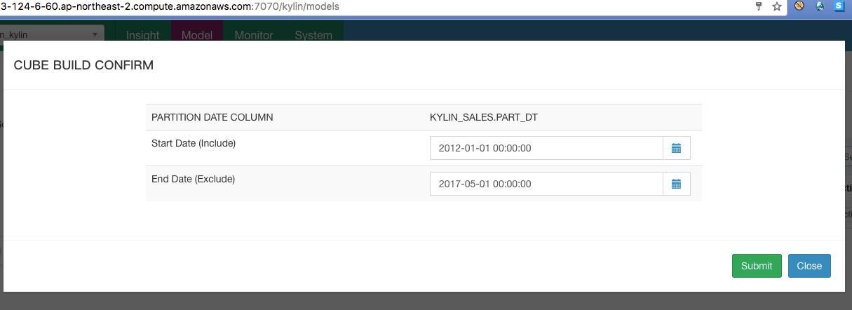 使用Apache Kylin和Amazon EMR进行云上大数据OLAP分析