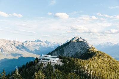 [Sulphur Mountain] Banff Gondola