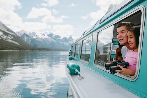 [Jasper National Park] Malige Lake Cruise Tour