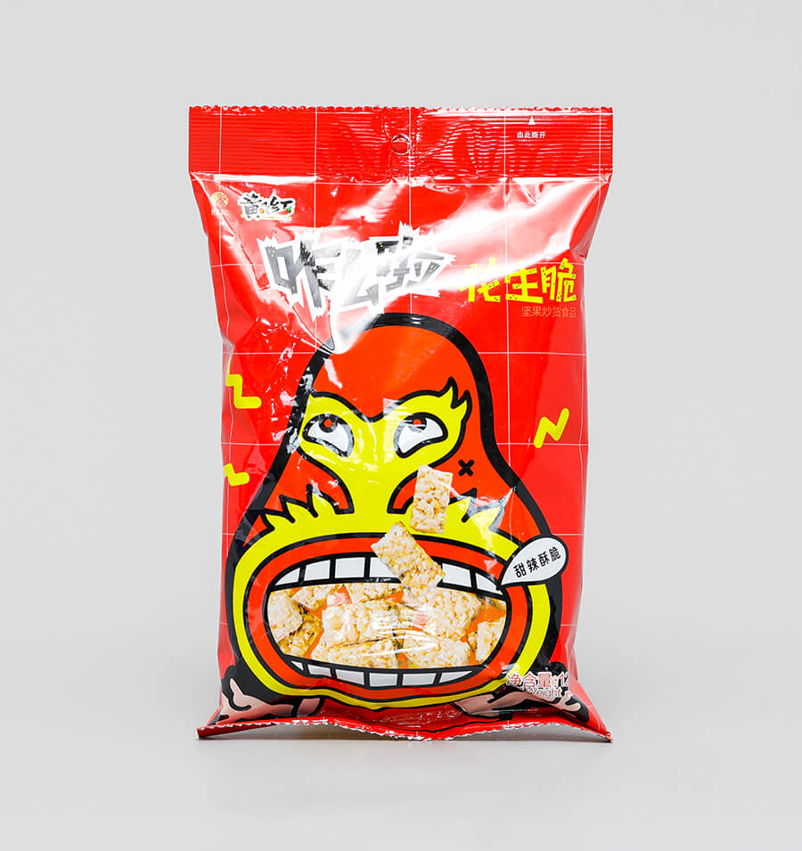 咋么啦花生脆(甜麻辣味)128g
