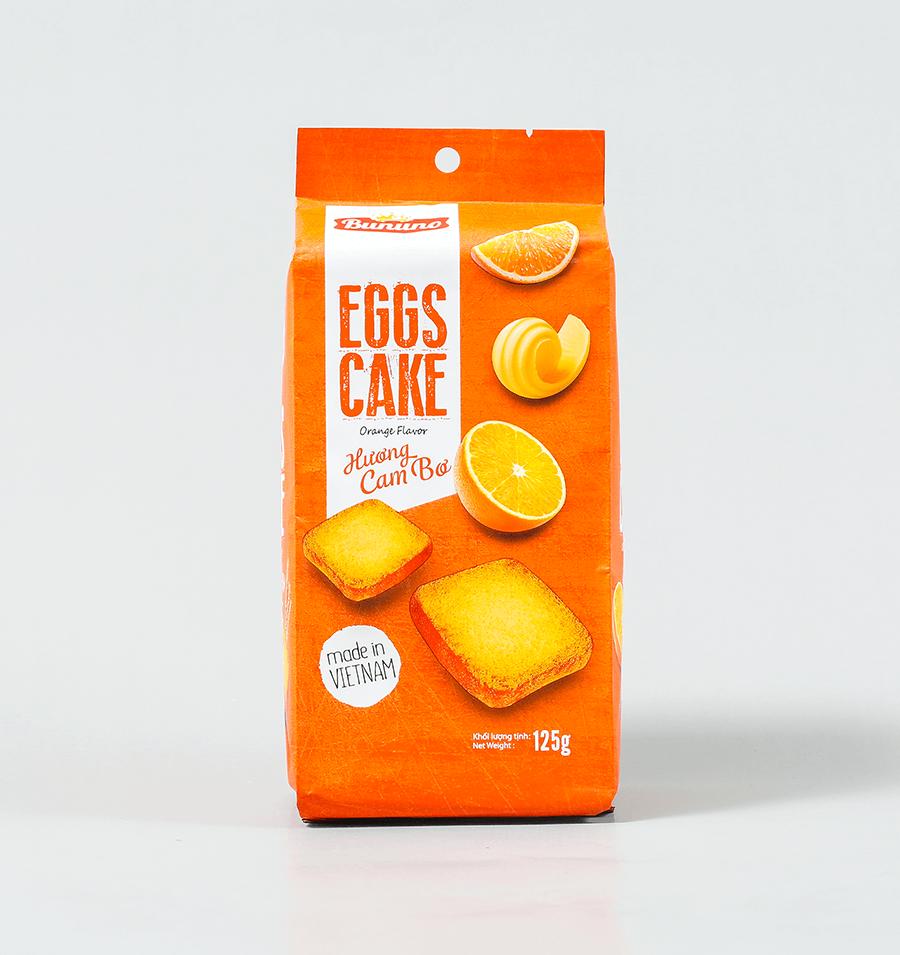 香橙味蛋糕干