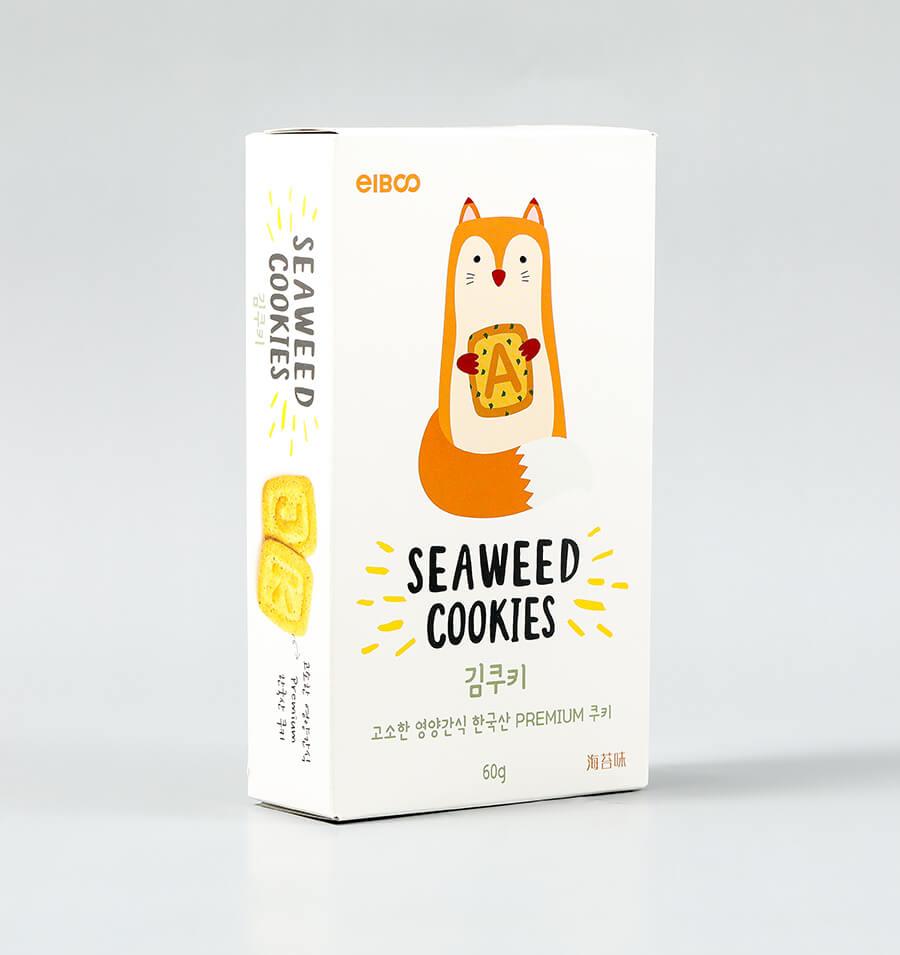 海苔味字母饼干