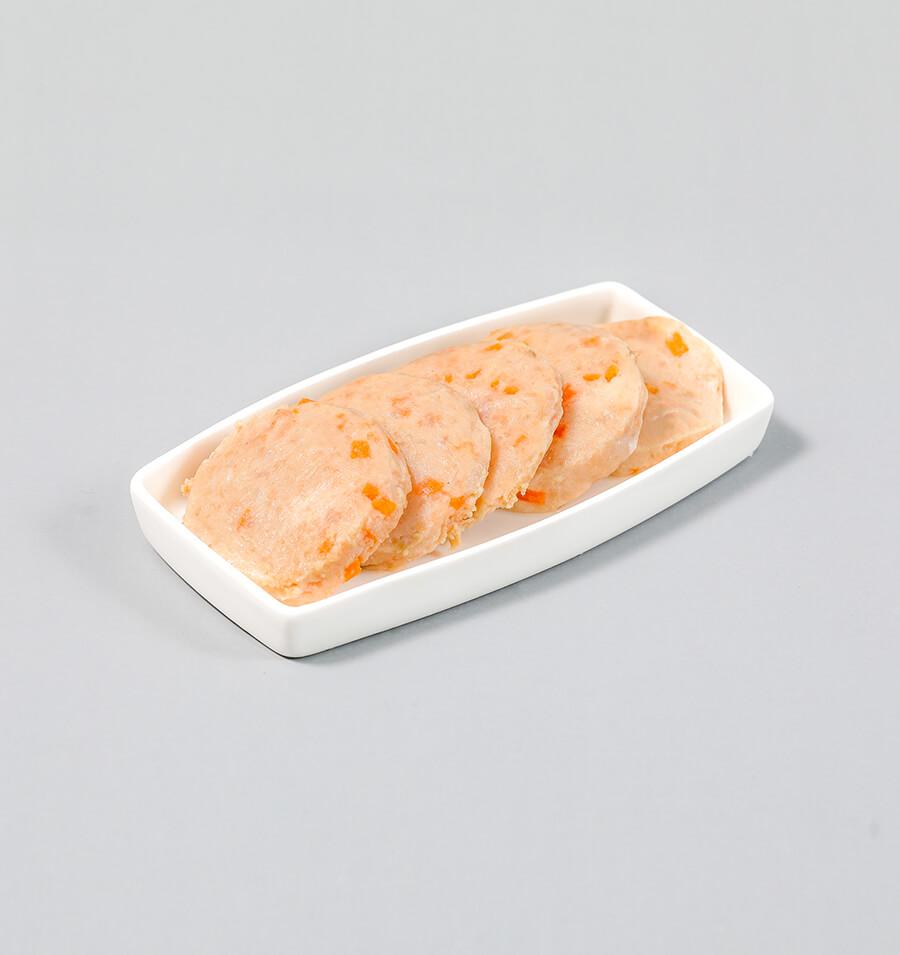 三文鱼胡萝卜饼