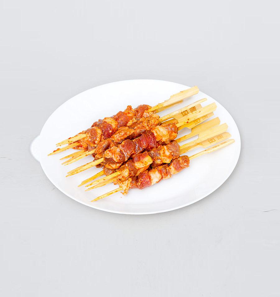 冻羊肉串(香辣)