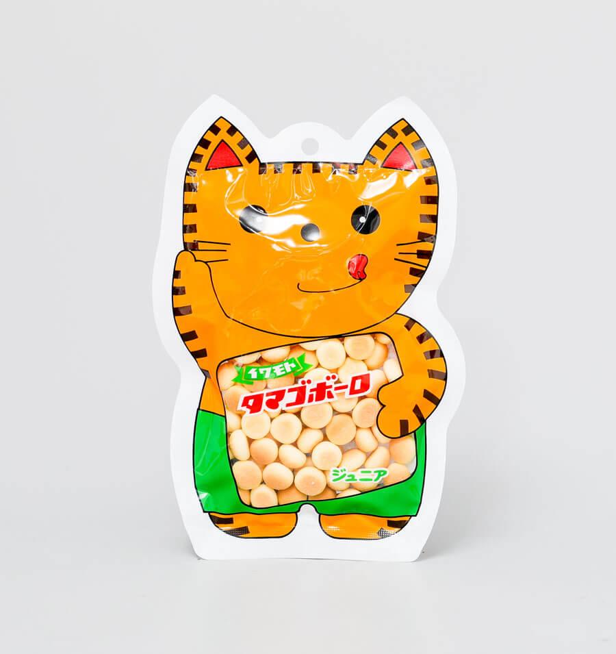 小馒头饼干猫咪外形袋装