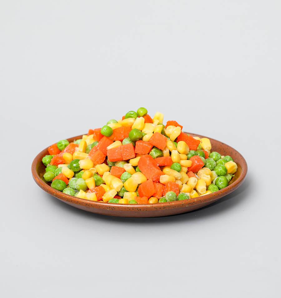 有机速冻混合蔬菜丁
