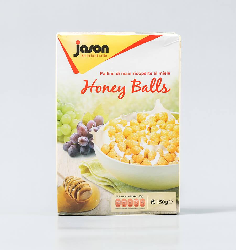 即食蜂蜜玉米球