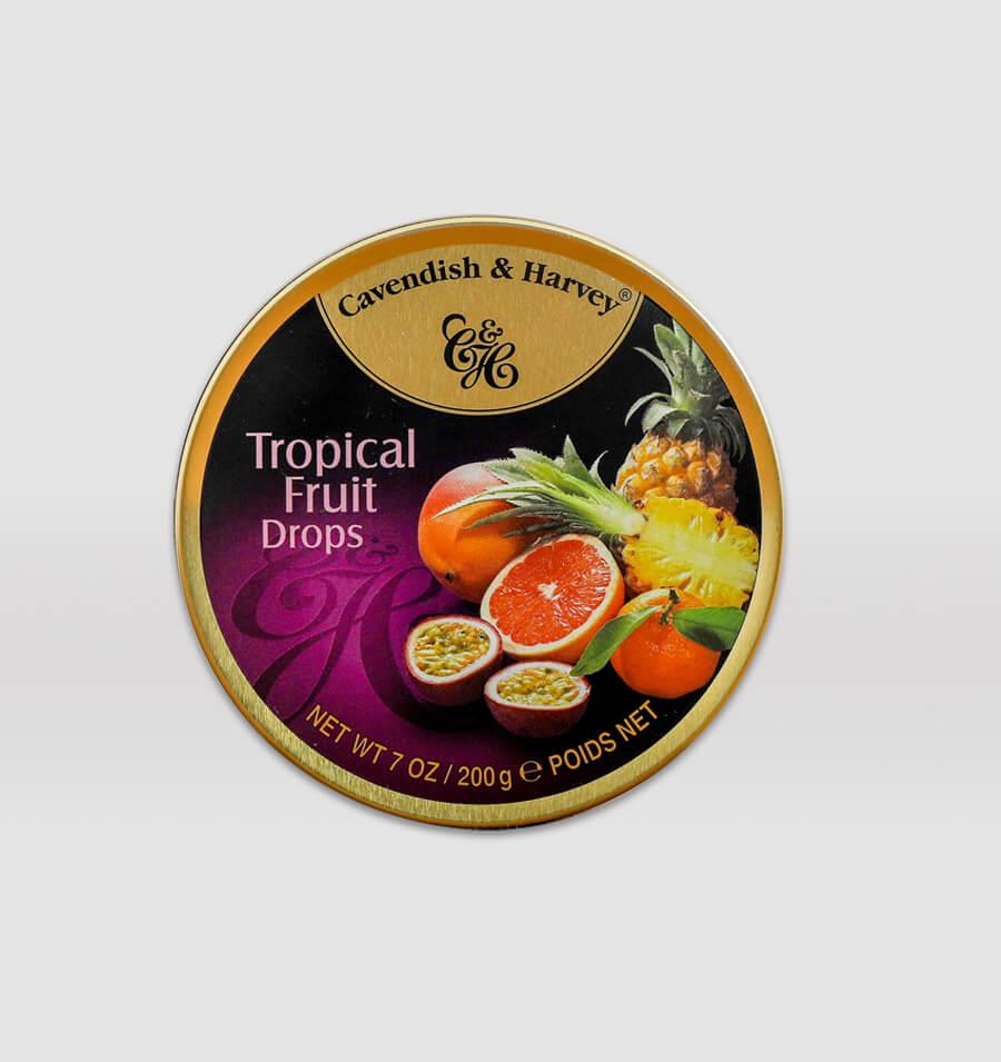热带什果味糖果