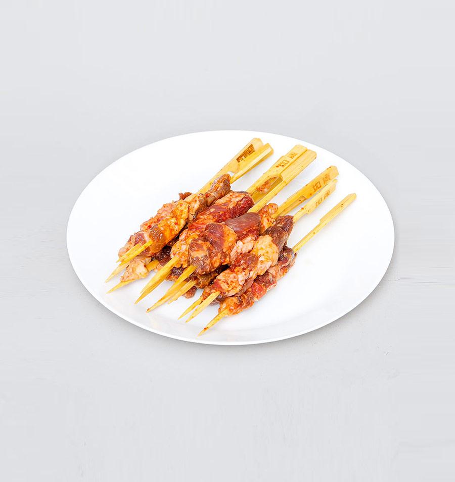 冻牛肉串(香辣)