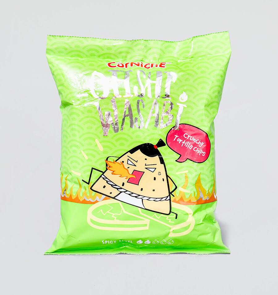 日式芥末味玉米脆片