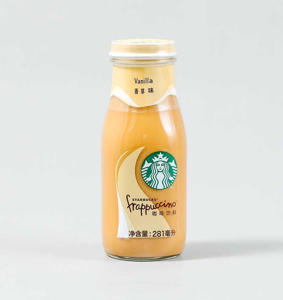 星冰乐香草味咖啡饮料