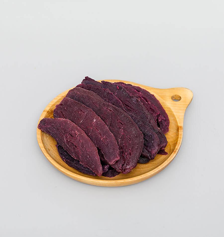风味紫薯干