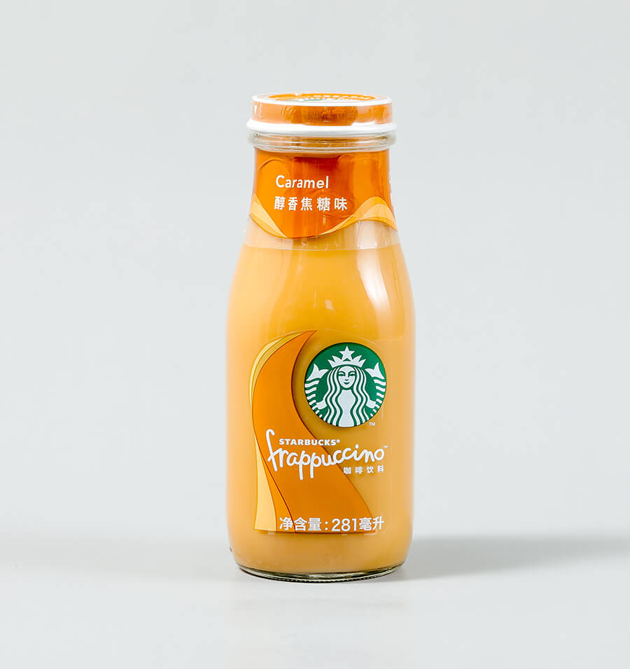 星冰乐焦糖味咖啡饮料