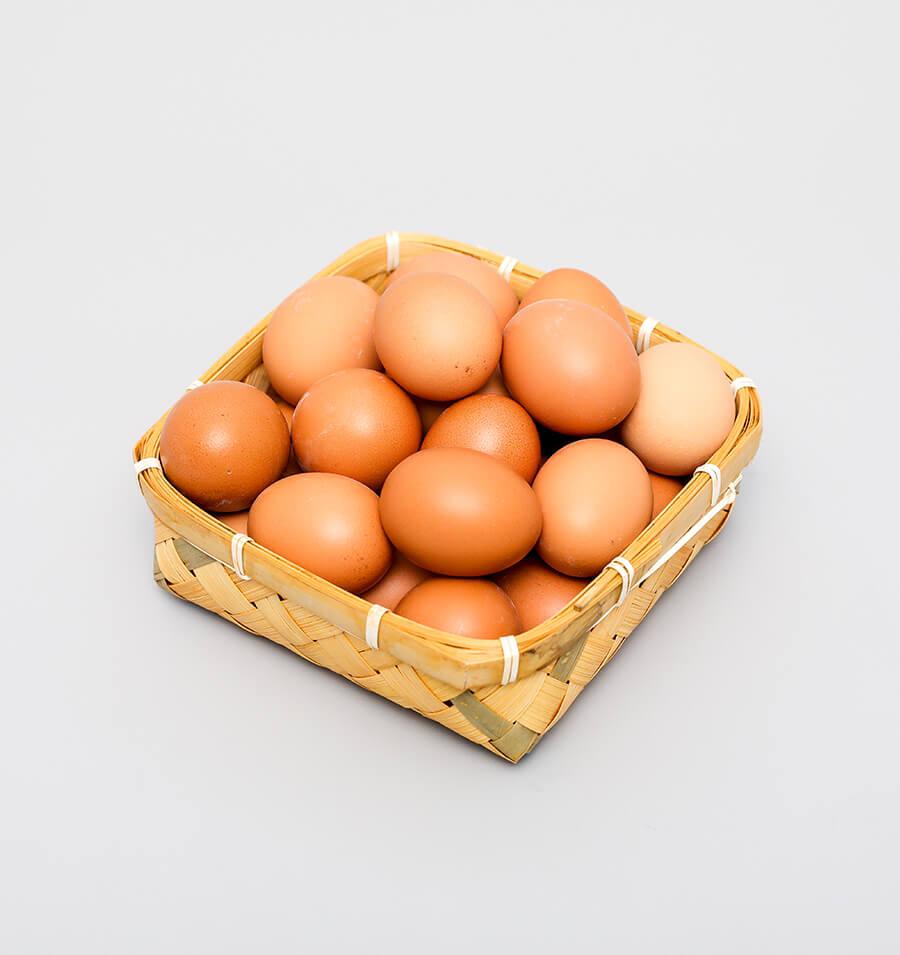 农场散养土鸡蛋8枚装