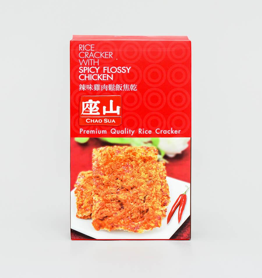 辣味鸡肉松米饼