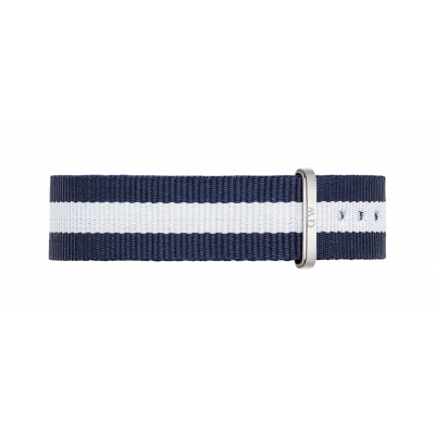 Watch band Classic Glasgow silver 18
