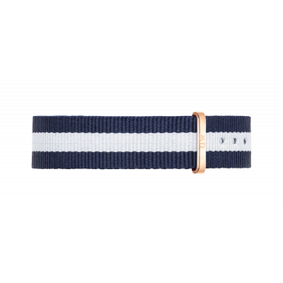 Watch band Classy Glasgow rose gold 17