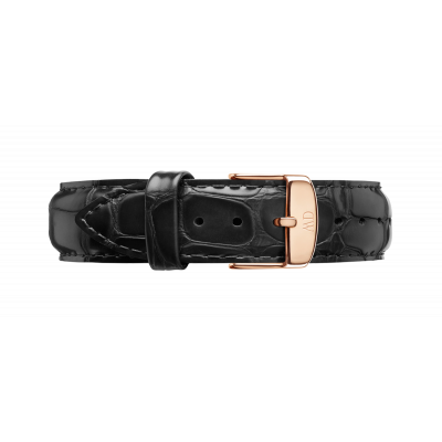 Watch band Dapper Reading rose gold 17