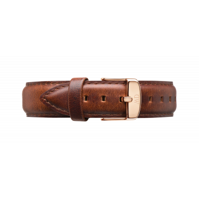 Watch band Dapper St Mawes rose gold 17