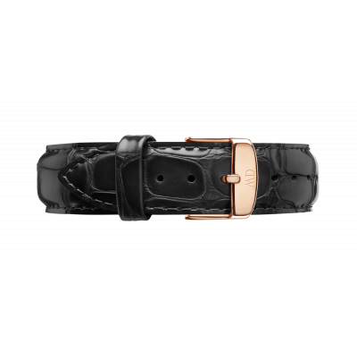 Watch band Dapper Reading rose gold 19