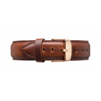 Watch band Dapper St Mawes rose gold 19
